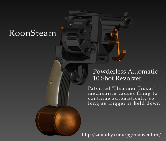 RoonSteam self loading automatic 10 shot revolver